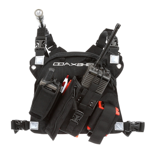 Radio Chest Harness Coaxsher Rcp 1 Pro Radio Chest Harness
